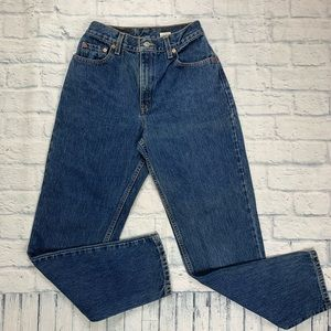 Vintage Levi 550 High Waist Relaxed Fit Mom Jeans